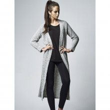 Urban Classics Strickjacke Damen Boucle Langer Cardigan...