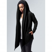 Urban Classics Strickjacke Damen Kapuzen Sweat Cardigan...