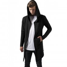 Urban Classics Strickjacke Herren Long Hooded Open Edge...