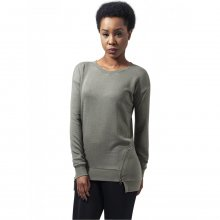 Urban Classics Sweatshirt Damen Burnout Front Zip...