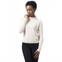 Urban Classics Sweatshirt Damen Chenille Turtleneck...