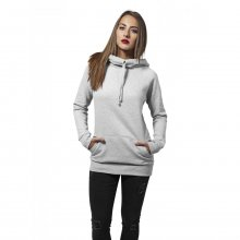 Urban Classics Sweatshirt Damen High Neck Raglan Kapuzen...