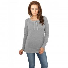 Urban Classics Sweatshirt Damen Wideneck Pocket Crewneck...