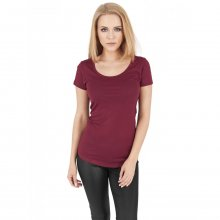 Urban Classics T-Shirt Damen Slim Fit Basic Viscon...