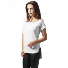 Urban Classics T-Shirt Damen Long Back Shaped Slub Shirt...