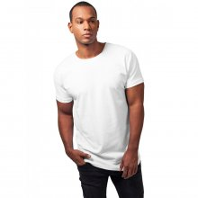 Urban Classics T-Shirt Herren Long Shaped Turnup Kurzarm...