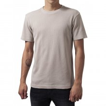 Urban Classics T-Shirt Herren Thermal Tee Kurzarm Shirt...