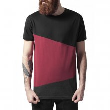 Urban Classics T-Shirt Long Shaped Zig Zag Kurzarm Shirt...