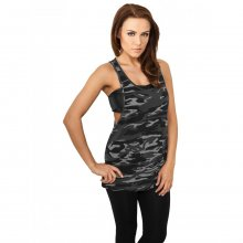 Urban Classics Tank Top Damen Camouflage Optik Loose...