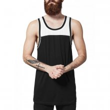 Urban Classics Tank-Top Herren Loose Fit Two Tone Mesh...