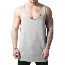 Urban Classics Tank-Top Herren Open Edge Wide Neck Loose...