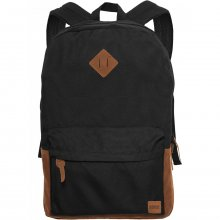 Urban Classics Tasche Backpack Kunstleder-Patch Bag...
