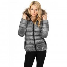 Urban Classics Winterjacke Damen Spray Dye Damenjacke TB-619