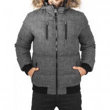 Urban Classics Winterjacke Herren Melange Expedition...