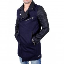 VSCT Jacke Herren Customized Biker Woalcoat Mantel...
