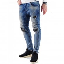 VSCT Jeans Herren Anarchy Heavy Used Blue Stoned Denim...