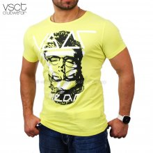 Vsct V-5640746 Party Club Individual T-shirt gelb