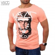 Vsct V-5640746 Party Club Individual T-shirt orange