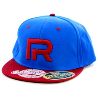 Redbridge R-31753 Snapback Cap Blau-Bordeaux