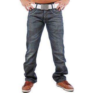 Redbridge RB-128 Exclusive Jeans Hose Schwarz Blau