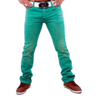 Redbridge RB-185 Color Jeans Hose Grün