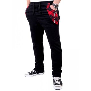Reslad Jogginghose Herren Sweatpant Pattern Pocket Design Sporthose RS-311