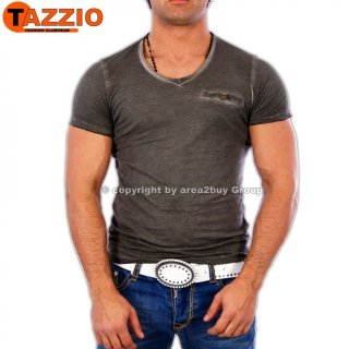 Tazzio TZ-1063 Party Club T-Shirt Schwarz