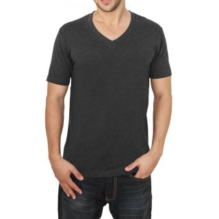 Urban Classics Herren V-Neck Basic T-Shirt TB-169