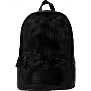 Urban Classics Rucksack Perforated Kunstleder Backpack Tasche TB-1287