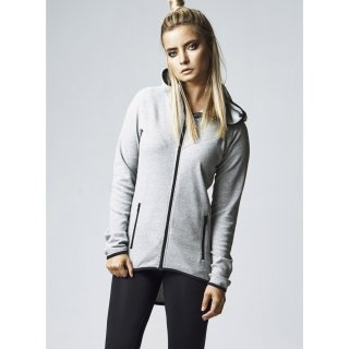 Urban Classics Sweatjacke Damen Athletic Kapuzen Zip Hoodie TB-1325