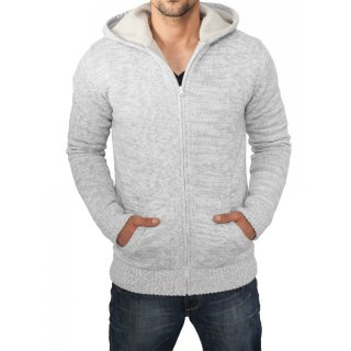 Urban Classics Sweatjacke Herren Winter Knit Zip Hoody TB-408