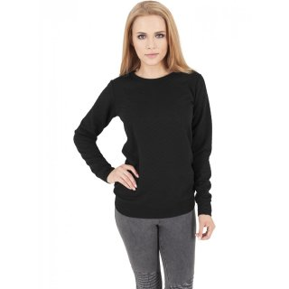 Urban Classics Sweatshirt Damen Diamond Quilt Optik Crewneck TB-1071