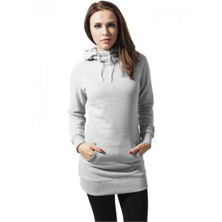 Urban Classics Sweatshirt Damen Long Sweat Kapuzen Pullover Hoodie TB-391