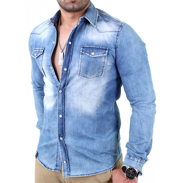 jeanshemd-kombinieren-mann