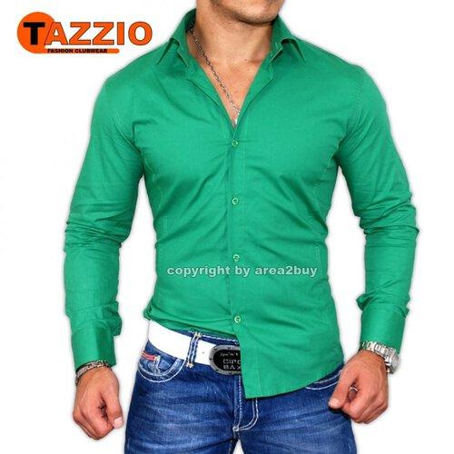 quality design b50ed 12951 Tazzio Slim Fit Uni Hemd 9000 D-Grün
