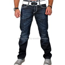 Redbridge RB-131 Dark blue Dicke Naht Jeans Hose