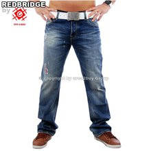 dbccc1a3a112 Redbridge RB-301 Destroyed Look Club Jeans, Blau W31   L34