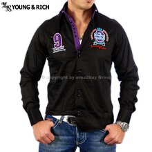 Young&Rich Hemd 6039 Sw-Lila