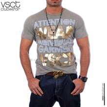 VSCT V-0159 Mud Acid T-Shirt Grau