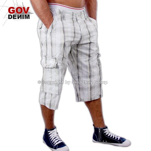 Free Side FS-20053 Bermuda Shorts Gelb