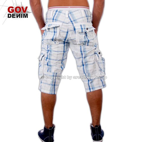 Free Side FS-20052 Bermuda Shorts Blau