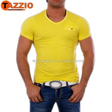 Tazzio TZ-1063 Party Club T-Shirt Gelb