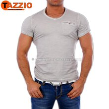 Tazzio TZ-1063 Party Club T-Shirt Grau