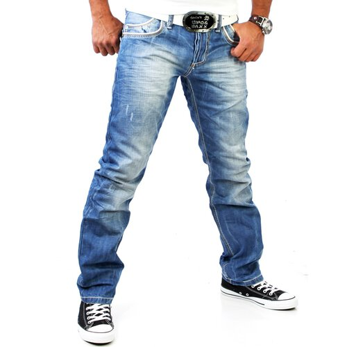 Cipo & Baxx Jeans C-595 stone washed Blau