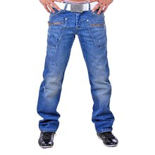 Redbridge RB-121 Zipper Jeans , blau