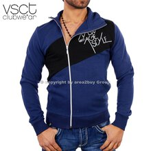 Vsct V-5640280 Party Club Zipper Sweatjacke Original Navy