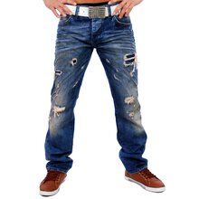 Redbridge RB-181 Destroyed style Jeans blau