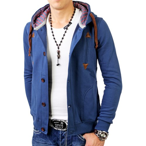 Reslad Herren Sweatjacke Seattle RS-5056