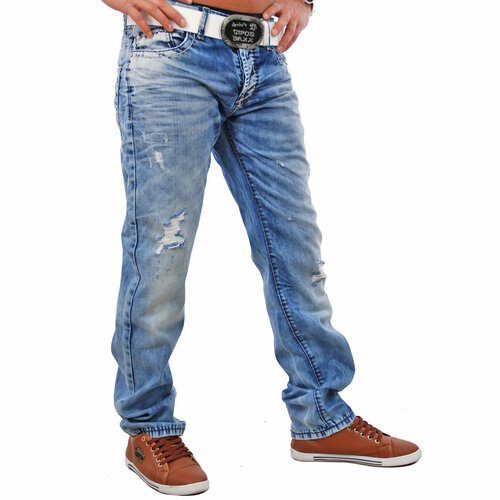 Redbridge RB-183 Stonewashed Jeans , blue