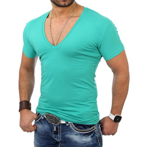 Reslad Herren V-Neck T-Shirt RS-5052
